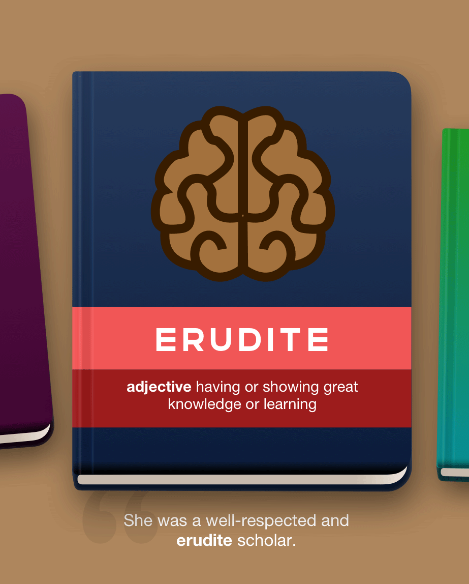 Definition from LookUp for erudite