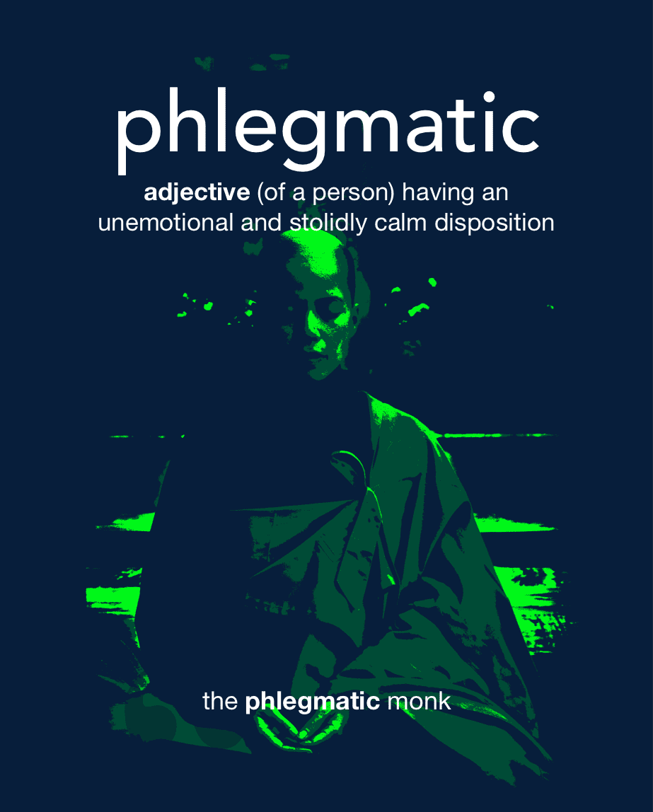 Definition from LookUp for phlegmatic