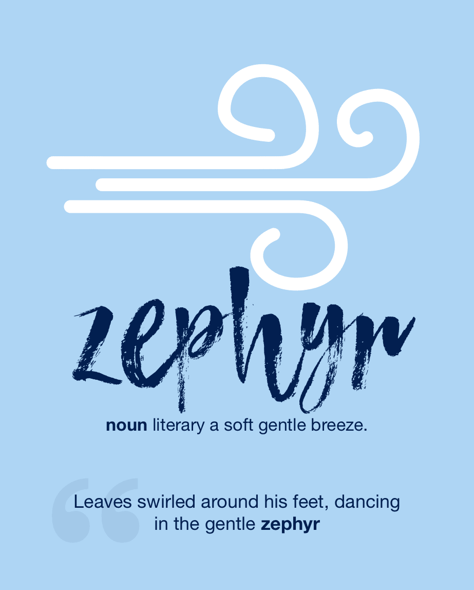 Definition from LookUp for zephyr