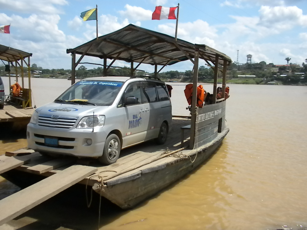 Ferry Across the River