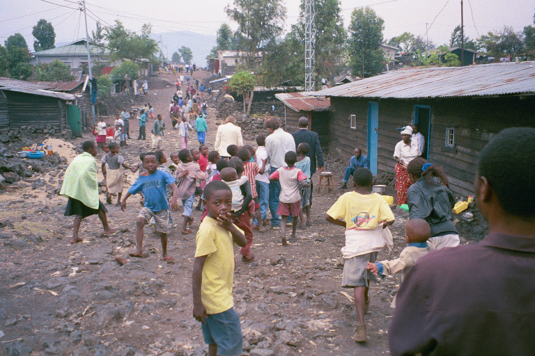 This is a photo is from my missions trip to Africa. We went for a speak at a church in  Goma . It was kind of intense, there apparently was fighting going on within 100 miles of where we were. You can check out  Africa Mission Trip 2002 -- pt 1 Facebook Album  and  Africa Mission Trip 2002 -- pt 2 Facebook Album .