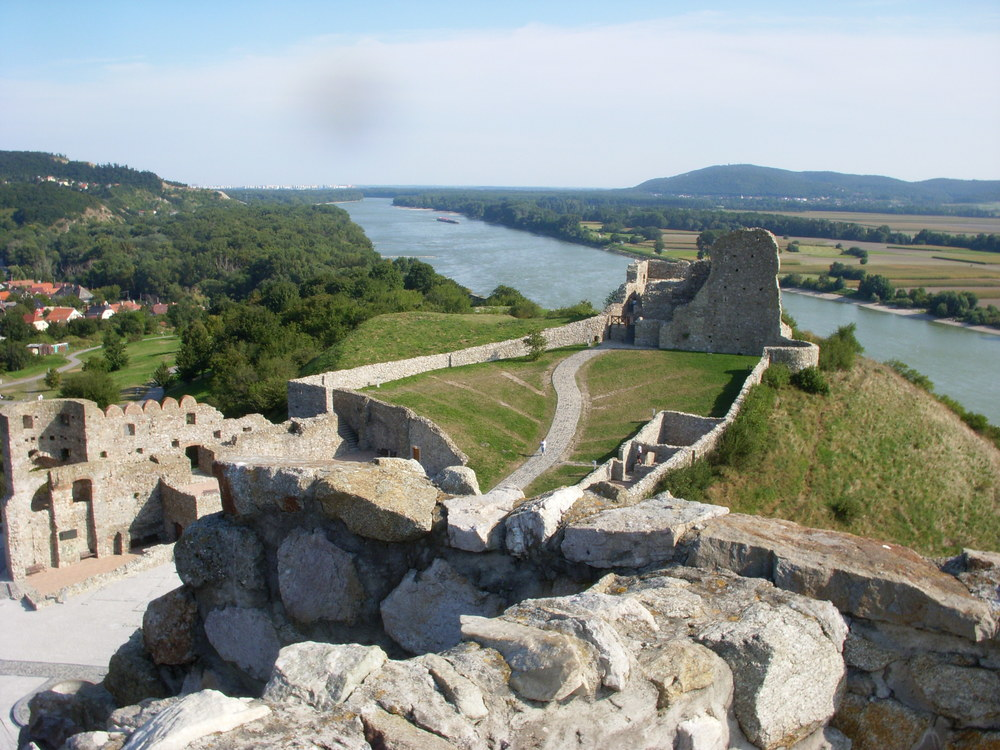 Devín Castle is a castle in Devín, which is a borough of Bratislava, the capital of Slovakia.