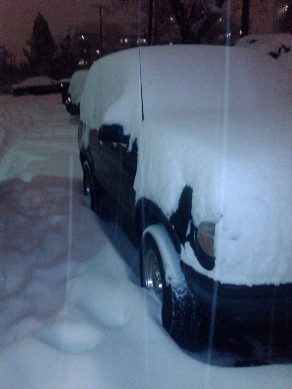 My Snow Covered Car