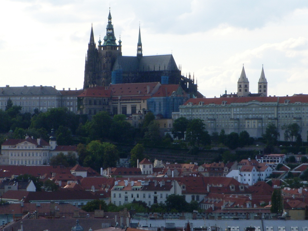 Overview Photo of the City of Prague