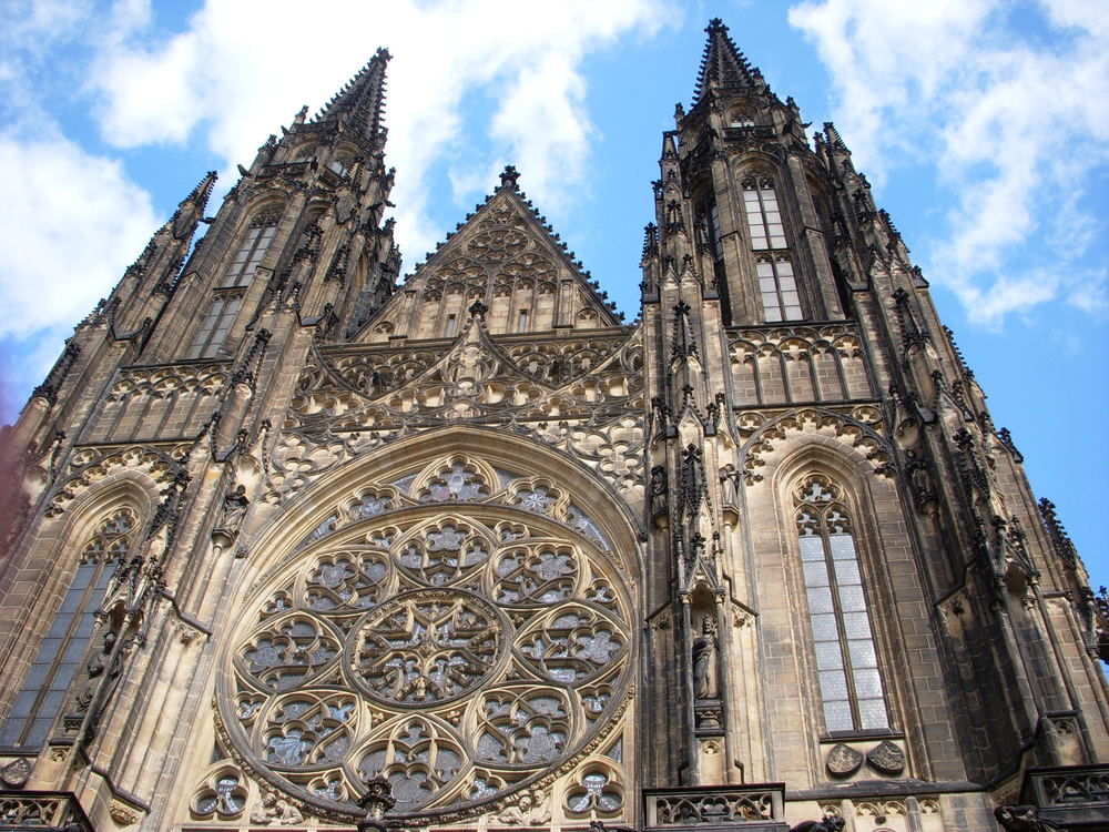 The Prague Castle is a castle in Prague where the Kings of Bohemia, Holy Roman Emperors and presidents of Czechoslovakia and the Czech Republic have had their offices. The Czech Crown Jewels are kept here