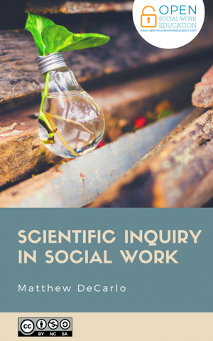 Scientific Inquiry in Social Work Book Cover
