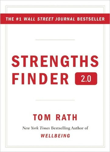 Tom Rath's Strengths Finder 2.0 Book Cover