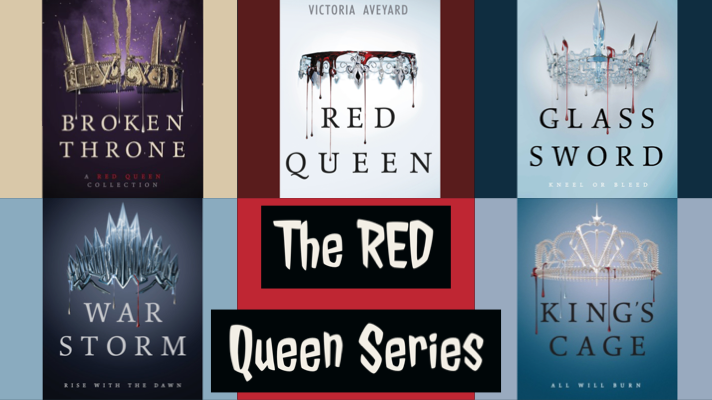 Various Red Queen Book Covers