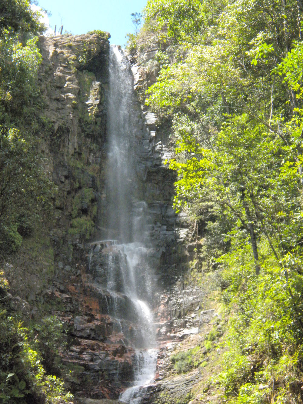 Waterfall near Salto Agua Fria